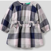Benetton, Check Dress With Bows, size XX, Multi-color, Kids