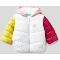Benetton, Padded Jacket In Recycled Wadding, size 98, Multi-color, Kids
