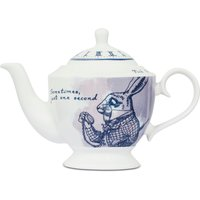 Limited Edition White Rabbit Teapot