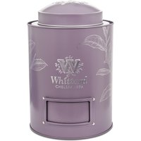 Large Purple Tea Caddy