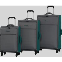 IT Luggage Combination Suitcase in cabin grey