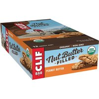 'Clif Bar Clif Nut Butter Filled Bars   12 Bars   Chocolate Peanut Butter   Recovery Aid   Dairy-free   Nut Butters & Spreads   Superlative Taste