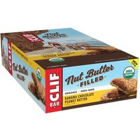 'Clif Bar Clif Nut Butter Filled Bars   12 Bars   Banana Chocolate Peanut Butter   Recovery Aid   Dairy-free   Nut Butters & Spreads   Superlative