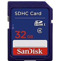 SanDisk 32GB SDHC Memory Card