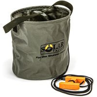 Solar Bankmaster Collapsable Water Bucket Rope Clip Emmer 10L