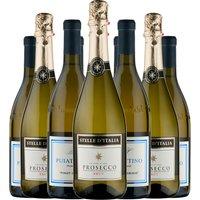 Italian Pinot Grigio and Prosecco 12 Pack