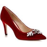 Zapato De Salón Eland De Terciopelo