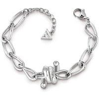 Guess Love Wire Barbed Wire Detail Bracelet
