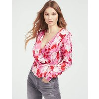 Guess All Over Print Blouse