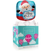 Merry Christmas Balloon Box