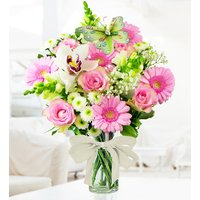 Pink Blossom - Free Chocs - Flower Delivery - Flowers - Pink Bouquet - Cheap Flowers - Next Day Flowers