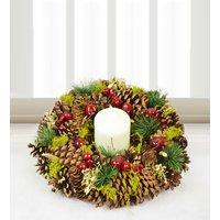 Traditional Christmas Wreath - Free Chocs