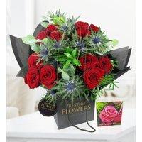 Grandeur - Free Chocs - Luxury Flowers - Red Roses - Flower Delivery