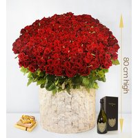 The Majestic - 365 Red Roses - Luxury Flowers - Valentine's Flowers