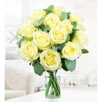 Avalanche Attraction - White Roses - Flower Delivery