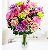 New Baby Girl - Free Chocs - Congrats Flowers - New Baby Girl Flowers