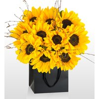 Van Gogh Bouquet - National Gallery Flowers - Yellow Geminis - Next Day Flower Delivery - Flower Delivery