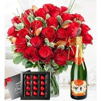 Elegant Valentine's - Valentine's Flowers - Valentine's Gifts - Red Roses - Anniversary Flowers - Luxury Flowers