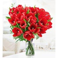Lush Tulips – Free Chocs - Valentine's Flowers – Valentine's Day Flowers