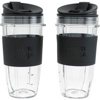 Twin Pack 650ml Cups with Sleeves