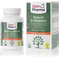 ZeinPharma Natural D-Mannose 500mg (60 Kapseln)