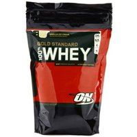 Optimum Nutrition 100% Whey Gold Double Rich Chocolate 1lbs Pulver Chocolate 450g