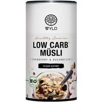 """WYLD Bio Low Carb Müsli Cranberry und Buchweizen """"Healthy Sunrise"""" (350g)"""