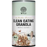 "WYLD Clean Eating Granola Mohn & Quinoa ""by Nadia Damaso"" bio (350g)"