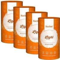 4 x Xucker light / europ. Erythrit (4 x 1kg)