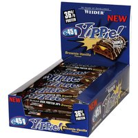 Weider YIPPIE! Bar - 12x45g - Cookies Double Chocolate