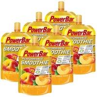 PowerBar 6 x Performance Smoothie Aprikose-Pfirsich (6x90g)