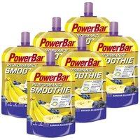 PowerBar 6 x Performance Smoothie Banane-Blaubeere (6x90g)