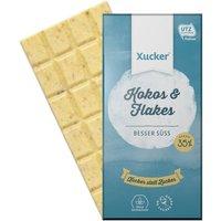 Xucker Kokos & Flakes Weiße Schokolade (100g)