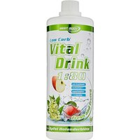 Best Body Nutrition Vital Drink Konzentrat - 1000ml - Kiwi Gooseberry