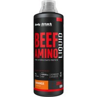 Body Attack Beef Amino Liquid - 1000ml - Orange