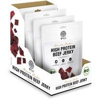 "WYLD High Protein Beef Jerky Klassik ""Muscle Maker"" bio (4x25g)"