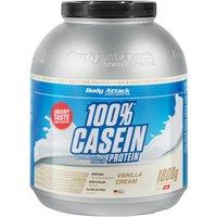 Body Attack 100% Casein Protein - 1800g - Vanilla Cream