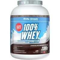 Body Attack 100% Whey Protein - 2300g - Strawberry White Chocolate