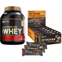 100% Whey Gold Standard (2273g) + Protein Bar (10x60g)