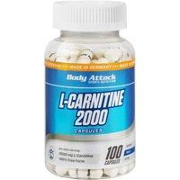 Body Attack L-Carnitine 2000 (100 Tabletten)