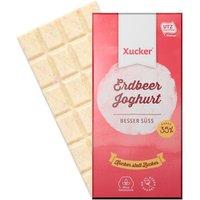 Xucker Erdbeer-Joghurt Weiße Schokolade (100g)