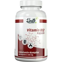 Zec Plus Nutrition Health+ Vitamin B12 (120 Kapseln)