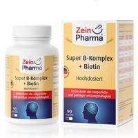 ZeinPharma Super B-Komplex + Biotin (90 Kapseln)