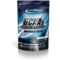 IronMaxx BCAAs + Glutamine Powder - 550g - Kiwi