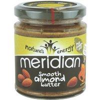 Meridian Foods Mandelbutter Smooth              Produktbild