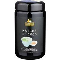 Dr. Goerg Matcha de coco Tee mit Kokosblütenzucker 250g