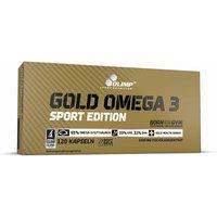 Olimp Gold Omega 3 Sport Edition Kapseln Neutral 120 Stück