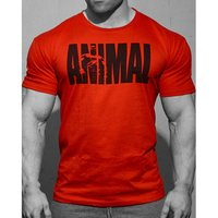 Universal Nutrition Animal Iconic Shirt Red (XXXL)