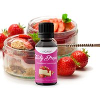 GymQueen Tasty Drops - 30ml - Strawberry Cheesecake