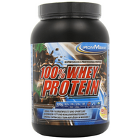 IronMaxx Dark Equador Schokolade 100% Whey Protein Pulver 900g